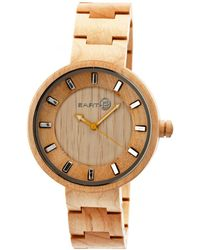 Earth Wood - Root Wood Bracelet Watch Khaki 41mm - Lyst