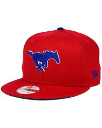 new product 716e2 8f313 KTZ - Southern Methodist Mustangs Core 9fifty Snapback Cap - Lyst