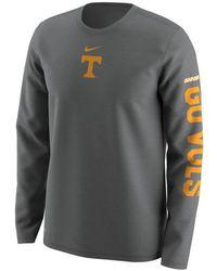 Nike - Tennessee Volunteers Fresh Trainer Hook Long Sleeve T-shirt - Lyst