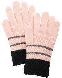 Steve Madden - Chevron Block Itouch Gloves - Lyst