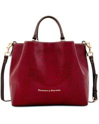 Dooney & Bourke - Large Barlow Embossed Leather Tote, Created For Macy's - Lyst