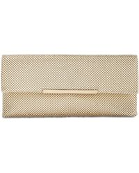 INC International Concepts - I.n.c. Hether Shiny Mesh Clutch, Created For Macy's - Lyst