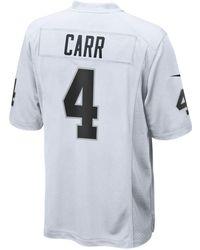 Lyst - Nike Men s Derek Carr Oakland Raiders Pride Name And Number T ... d77ea3910