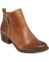 Lucky Brand | Basel Zip Up Booties | Lyst
