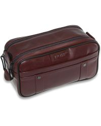 Dopp - The Elite Collection Veneto Multi Zip Kit With Removable Pouch - Lyst