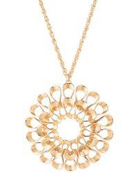 "Trina Turk - 34"" Vintage Flower Pendant Necklace - Lyst"