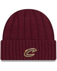 f07f8b85e Cleveland Cavaliers Metal Cuffed Knit Hat