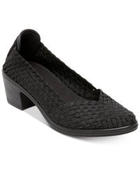 Steven by Steve Madden - Pree Woven Stretch Court Shoes - Lyst