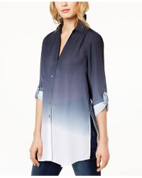 INC International Concepts - I.n.c. Petite Ombré Tunic, Created For Macy's - Lyst