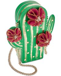 Betsey Johnson - Lookin' Sharp Mini Cactus Crossbody - Lyst