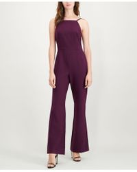 French Connection - Sleeveless Square-neck Jumpsuit - Lyst