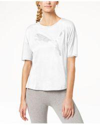 PUMA - Drycell Printed-logo T-shirt - Lyst