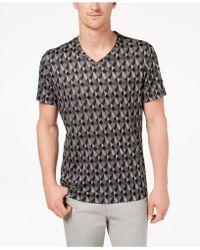 Alfani - Men's Exploded Geo-print T-shirt - Lyst