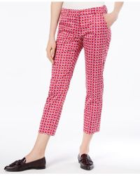 Weekend by Maxmara - Cico Cropped Straight-leg Pants - Lyst