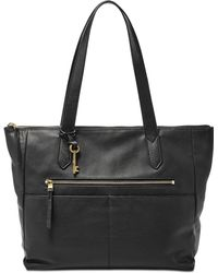 Fossil - Fiona Leather Tote - Lyst
