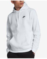 8148780c0eb0 Lyst - Nike Sb Everett Men s Fleece Hoodie in Black
