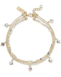 INC International Concepts | I.n.c. Gold-tone Shaky Bead Multi-chain Anklet, Created For Macy's | Lyst