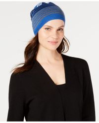 Eileen Fisher - Striped Merino Wool Beanie - Lyst