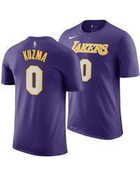 Nike - Kyle Kuzma Los Angeles Lakers Statement Player T-shirt - Lyst