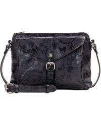 Patricia Nash - Avellino Laser Floral Leather Crossbody - Lyst