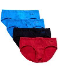 2xist - 4 Pack Stretch Cotton Bikini Briefs - Lyst