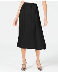Alfani - Washed-satin A-line Skirt, Created For Macy's - Lyst