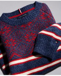 Tommy Hilfiger - Fair Isle Stripe Sweater, Created For Macy's - Lyst