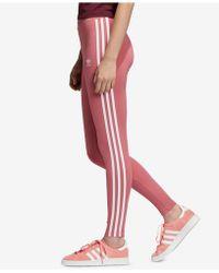 427de1cb189 adidas - Originals Adicolor 3-stripe Leggings - Lyst