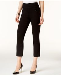 INC International Concepts - Petite Pull-on Cropped Pants - Lyst