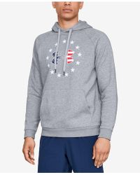 Under Armour - Freedom Rival Hoodie - Lyst