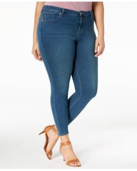 Style & Co. | Plus Size Ultra-skinny Ankle Jeans, Created For Macy's | Lyst