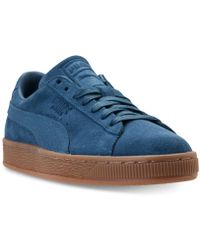 PUMA - Men s Suede Classic Natural Warmth Casual Sneakers From Finish Line  - Lyst d65a0cd76