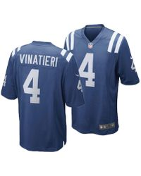 Lyst - Nike Quenton Nelson Indianapolis Colts Game Jersey in Blue ... 03e3a9b0f