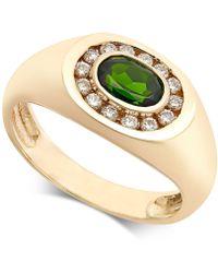 Macy's - Russalite (9/10 Ct. T.w.) & Diamond (1/3 Ct. T.w.) Ring In 14k Gold - Lyst
