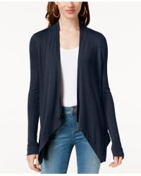 INC International Concepts - Long-sleeve Open-front Cardigan - Lyst