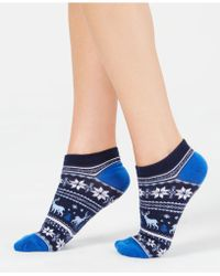 Charter Club - Fair Isle Low-cut Socks, Created For Macy's - Lyst