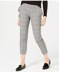 Maison Jules - Houndstooth-print Cropped Pants, Created For Macy's - Lyst
