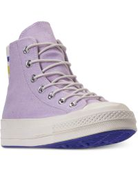 063e7d33b0c Converse - Chuck Taylor All Star 70 High Top Casual Sneakers From Finish  Line - Lyst