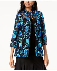 Alex Evenings - Petite Embroidered Jacket & Top Set - Lyst