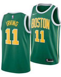 Nike - Kyrie Irving Boston Celtics Earned Edition Swingman Jersey - Lyst 8f2140222