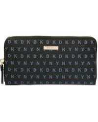 DKNY - Bryant Large Zip-around Wallet - Lyst