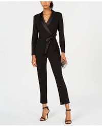 c3bb991dd138 Lyst - Nasty Gal Suit Up Tuxedo Romper - White in White