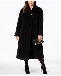 Jones New York - Plus Size Wool-blend Maxi Walker Coat - Lyst