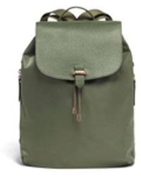 "Lipault - Plume Avenue 15"" Laptop Backpack Olive Green - Lyst"