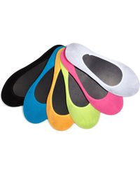 Hot Sox - Solid Foot No Show Socks 6 Pack - Lyst