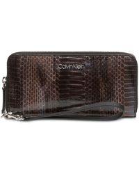 Calvin Klein - Python Wallet - Lyst