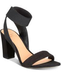 169ab2359a86b9 INC International Concepts - Kiernan Stretch Ankle Two-piece Block-heel  Sandals