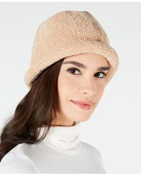 August Accessories - Chenille Roll-up Hat - Lyst