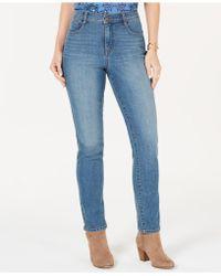 0e61bac8518 Style   Co. - Petite Tummy-control Slim-leg Jeans