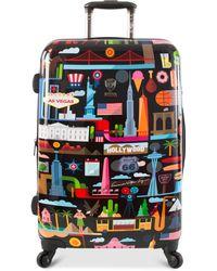 """Heys - Fvt Usa 26"""" Hardside Spinner Suitcase - Lyst"""
